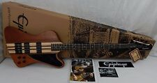 EPIPHONE THUNDERBIRD PRO - 4 String BASS GUITAR T-Bird Pro Tested & Working Epi