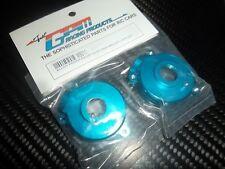 GPM MB011 carter de diff AV / ARR aluminium bleu HPI MINIZILLA