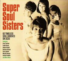 SUPER SOUL SISTERS - 60 TIMELESS SOUL GROOVES  (NEW SEALED 3CD)