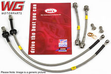 HEL Braided Brake Line Hose Kit - VW Passat MK6 2.5 TDI 312mm Front Discs 00-03