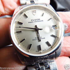 SWISS MADE VINTAGE TUDOR PRINCE OYSTERDATE AUTOMATIC MEN WATCH