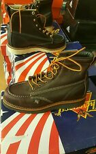 THOROGOOD BOOTS 814-4266 8.5 D MORE SIZES Moc Toe wolverine red wing lot work