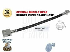 FOR NISSAN SERENA 1.6 LX 1993-2000 CENTRAL MIDDLE REAR RUBBER FLEXI BRAKE HOSE