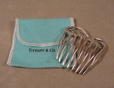 Sterling Silver Angela Cummings Tiffany & Co Hair Comb Vintage