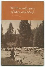 THE ROMANTIC STORY OF MAN AND SHEEP, 1956 w/ ALS, catalogue, Pendleton Wool