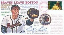 COVERSCAPE computer designed 60th Braves Leave Boston for Milwaukee event cover