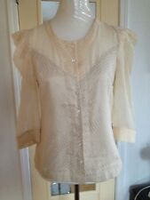 BYSI Ladies shirt Blouse top size US 10