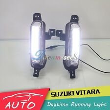DRL LED DAYTIME RUNNING LIGHT FOG LAMP FOR SUZUKI GRAND VITARA 2015 2016