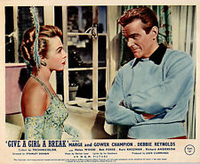 GIVE A GIRL A BREAK ORIGINAL BRITISH LOBBY CARD MARGE & GOWER CHAMPION 1953