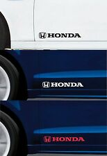 For HONDA - 2 x DOOR - VINYL CAR DECAL STICKER ADHESIVE - CIVIC - 300mm long