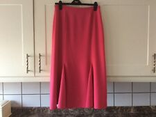 Smart ladies pink size 14 lined skirt by Delmod approx length 34 inches