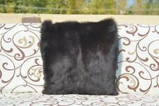 1x Real Fox Fur Pelz Home Decor Pillow Cushion Cover Case CC-260