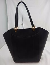 Lauren Ralph Lauren Lexington Shopper Tote BLACK $158