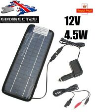 NEW 2017 UK 12V 4.5W Solar Power Panel Car Caravan Boat Battery Charger