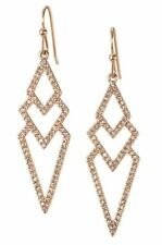 Pave Spear Earrings Cute Rose Gold Drop Dangle Hook Earrings Fashion Jewellry