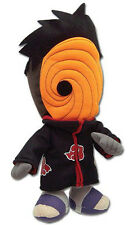 "1x Official Great Eastern (GE-8972) Naruto Shippuden 8"" Tobi Stuffed Plush Doll"