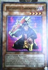 YU-GI-OH CARD: GRAVEKEEPER'S CANNONHOLDER -  MINT COND!