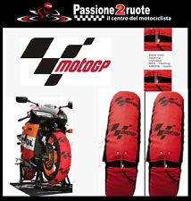 Couvertures chauffantes pneu réchauffeurs moto gp Aprilia Bmw Ducati Honda