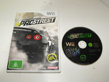 "Need For Speed Prostreet For Nintendo Wii ""Fast And Free Postage"""