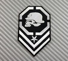 Embroidered Patch Iron Sew Logo Emblem Hardcore Metal Mulisha Skull