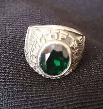 "Sterling silver ,BOY'S RING"" HALL OF FAME""  COOPERSTOWN N.Y. LITTLE MAJORS"