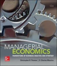 Managerial Economics : Foundations of Business Analysis and Strategy by S....