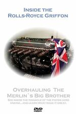 NEW TITLE! DVD Inside The Rolls-Royce Griffon. Ideal Gift! Not Merlin