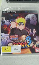 Naruto Shippuden Ultimate Ninja Storm 3 Game PS3 (NEW)