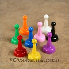 NEW Set of 9 Standard Pawns Board Game 25mm Play Pieces