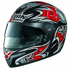 Nolan N-84 NCOM VPS Full Face Helmet Blade Black / Red XS 53-54 cm Made in Italy