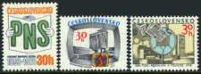 Czechoslovakia 2199-2201, MNH. Newspaper, TV Screen, Microphone, 1978