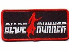 Blade Runner Movie Name Logo Embroidered Patch, NEW UNUSED