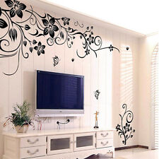 Hee Grand Removable Vinyl Wall Sticker Mural Decal Art Flowers Vine Wall Sticker