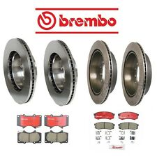 Toyota Sequoia 2001-2007 Front & Rear Brake KIT Rotors & Pads for 13WL Brembo