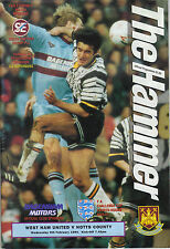 West Ham United v Notts County 1993/94 FA Cup 4th round replay