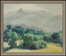 Emil Kosa Jr Oil Painting on Canvas Original Signed Landscape Authentic Artwork