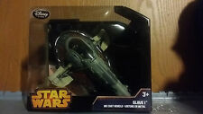 STAR WARS SLAVE 1 SLAVE ONE Spaceship DIE CAST DISNEY STORE EXCLUSIVE Ages 10+