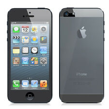 2in1/Set Front + Back Full Screen Protector HD LCD Guard for iPhone 5 5S 5C