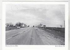 "*Postcard-""Heading South, 1950's"" (US 81/ S. to Austin)*Round Rock TX(#25)"