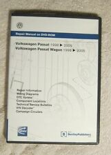 Volkswagen Passat 1998 - 2005 Wagen DVD Repair Manual