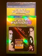 The Fast and the Furious (Blu-ray Disc, 2013, Digital Copy Ultraviolet) SEALED!
