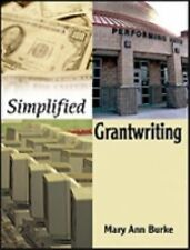 Simplified Grantwriting, Burke, Mary Ann, Acceptable Book