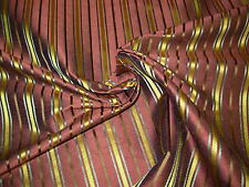 "~12 1/8 YDS~SILK~STROHEIM&ROMANN~"" SIAM THAI SILK"" UPHOLSTERY FABRIC FOR LESS~"