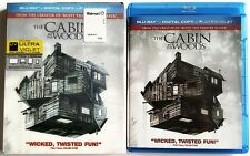 THE CABIN IN THE WOODS BLU RAY WITH RARE OOP LENTICULAR SLIPCOVER SLEEVE