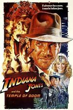 INDIANA JONES and the Temple of Doom  RARE HOT NEW Poster 24x36 inch