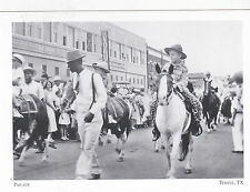 "+PC-Postcard-""Parade"" (Passing in front of L.C. Burr Dept. Store) Temple Tx(#65)"