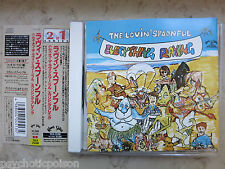 LOVIN' SPOONFUL - HUMS OF LOVIN' SPOONFUL + EVERYTHING PLAYING   JAPAN CD