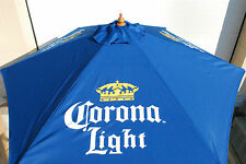 Corona Light Beer Market Patio Beach 7 FT. Umbrella NEW & F/Shipn. Logo 3 Sides