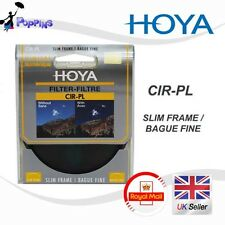 Genuino roscado doble HOYA 77mm Slim Marco CPL Polarizador Circular