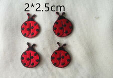 Wholesale 25 Pieces Cute  Ladybug Iron On Patch Sewing Craft DIY 2*2.5cmcm